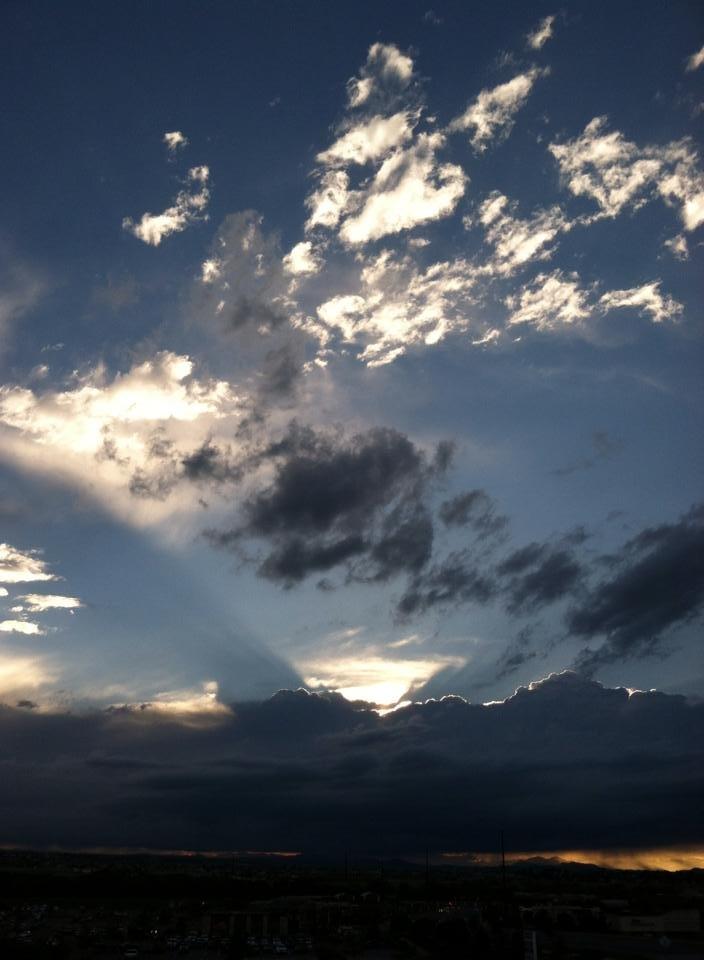 Evening Sky, Parker Colorado