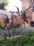Metal Sculpture art in Parker, Colorado
