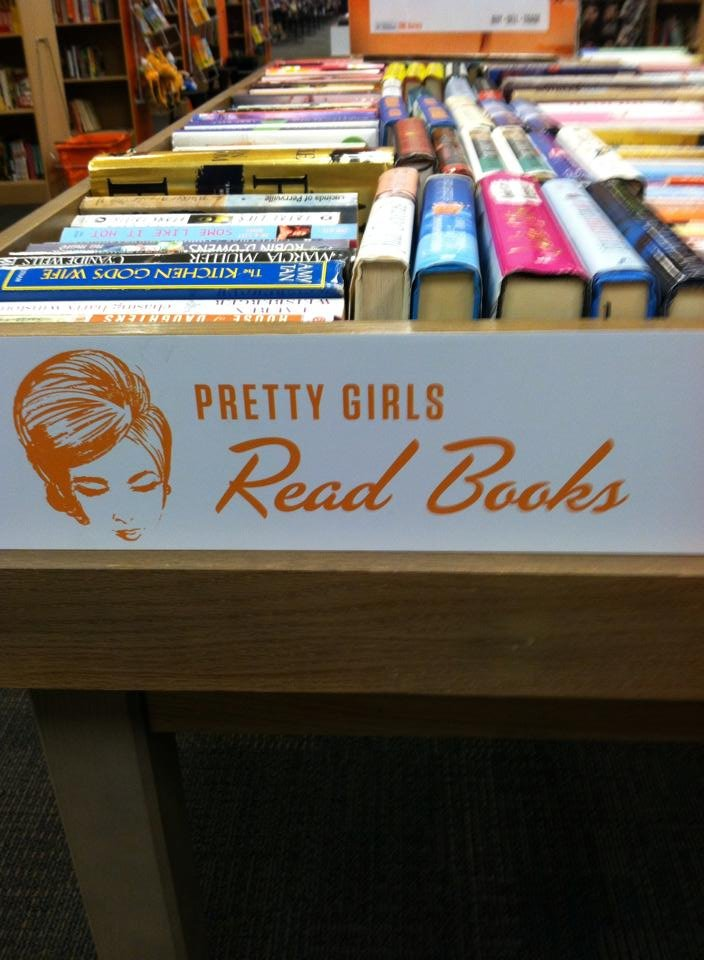 Pretty Girls Read Books