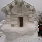 Snow Sculpture January 2015