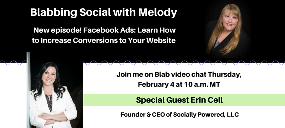 Blabbing Social with Melody