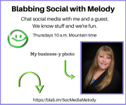Blabbing Social with Melody