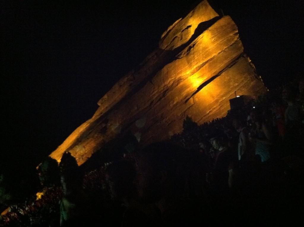 Red Rocks Amphitheatre in Colorado