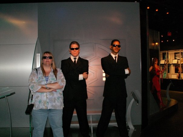 Men in Black at the wax museum