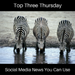 Top Three Thursday Zebras
